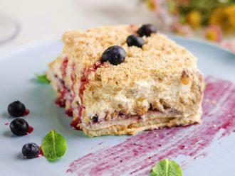 """Домашна торта """"Прованс"""" с орехи и маскарпоне"""
