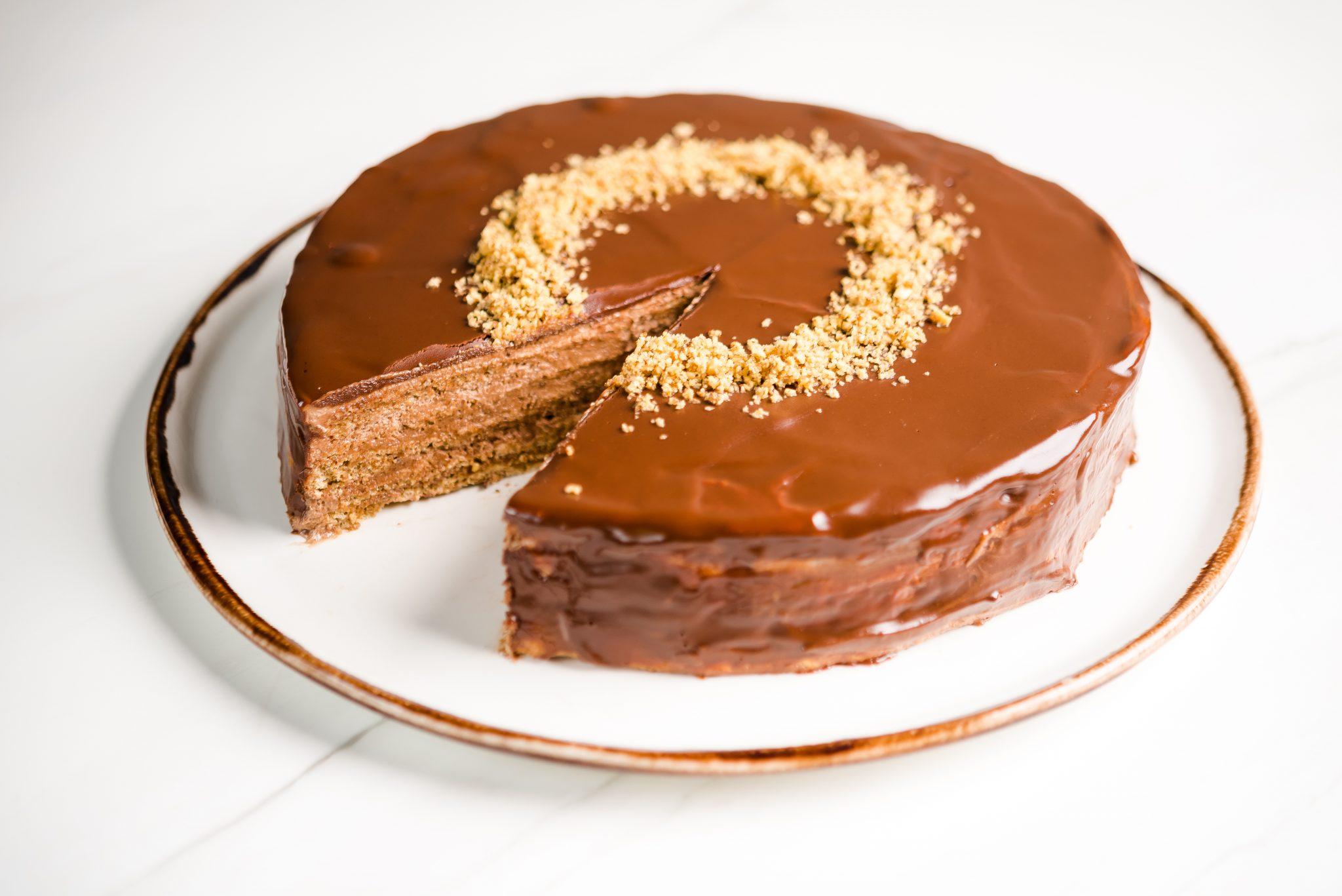 Шоколадова торта Алказар