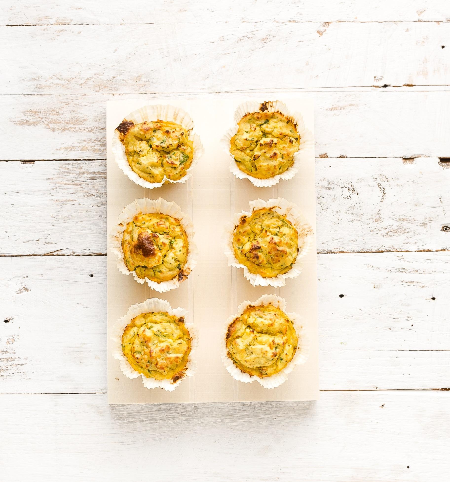 Картофени мъфини със сирене и риган
