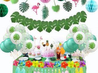 Тропическа парти декорация комплект 136 части
