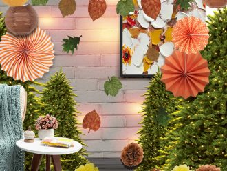 Есенна парти украса