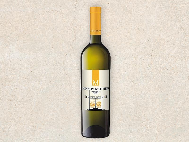 Chardonnay & Viognier - White cuvee  Minkov Brothers
