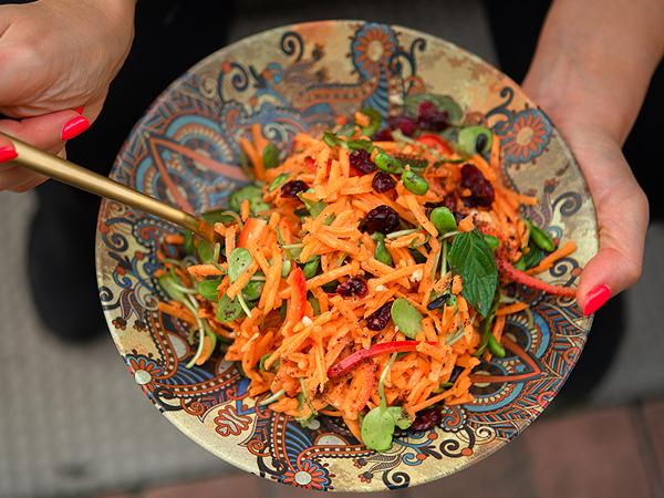 Мороканска морковена салата